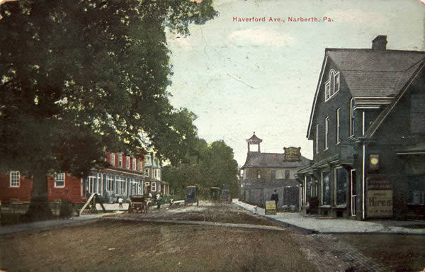 Haverford Avenue in 1910